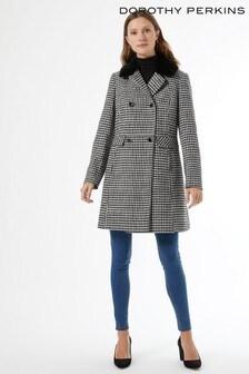 Dorothy Perkins Dogtooth Dolly Coat
