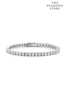 The Diamond Store 1.00ct Set Tennis Bracelet