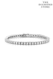The Diamond Store 1.00ct Set Tennis Bracelet