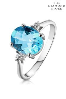 The Diamond Store 2.60ct and Diamond Ring in 9K White Gold