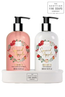 Scottish Fine Soaps Spiced Apple Hand Care Set