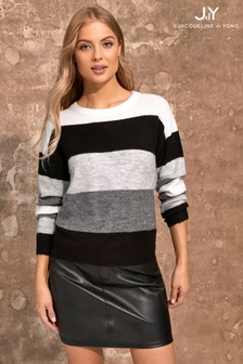 JDY Colour Block Jumper