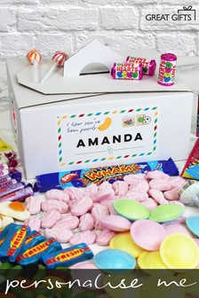 Personalised Get Well Soon Sweet Box by Great Gifts