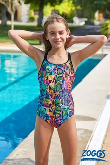 Zoggs Zany Skin Duo-back Swimsuit
