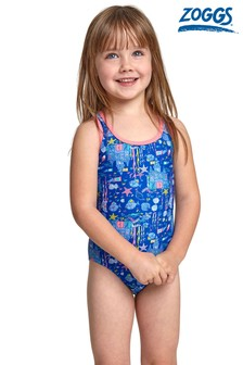 Zoggs Undersea Action Back Swimsuit