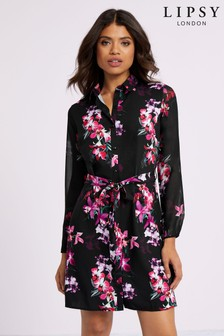 Lipsy Printed Shirt Dress