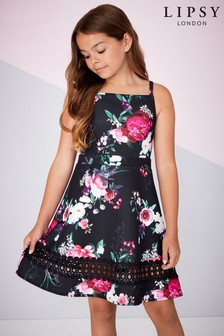 Lipsy Girl Leona Scuba Dress
