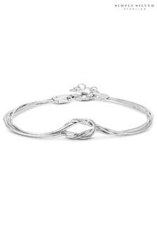 Simply Silver Sterling Silver Slinky Bracelet