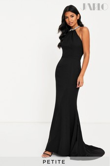 Jarlo Petite Halter Neck Maxi Dress