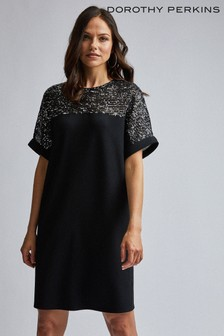 Dorothy Perkins Sequin Mix Shift Dress