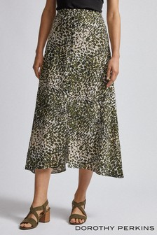 Dorothy Perkins Button Midaxi Skirt