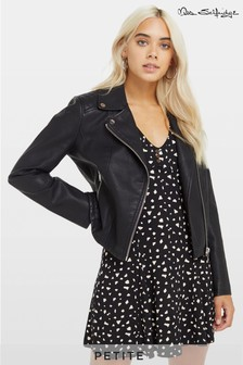 Байкерская куртка Miss Selfridge Petite