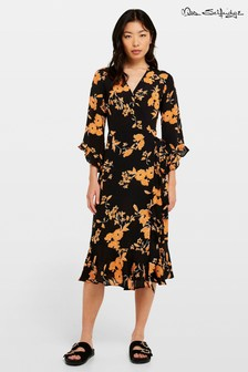 Miss Selfridge Floral Print Skater Dress