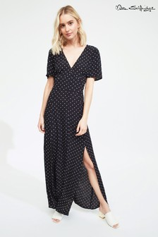 Miss Selfridge Polka Dot Maxi Dress
