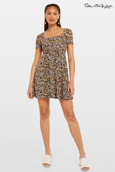 Miss Selfridge Ditsy Print Tea Dress