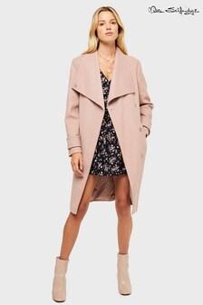 Miss Selfridge Funnel Wrap Coat