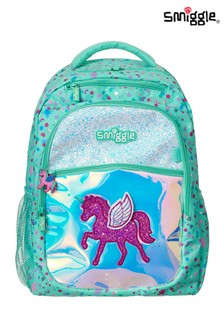 Smiggle Believe Backpack with Unicorn