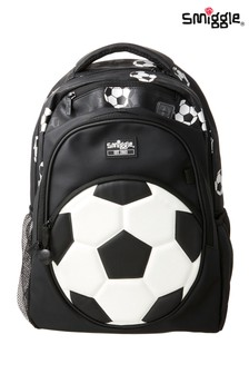 Smiggle Goal Backpack with Football Print