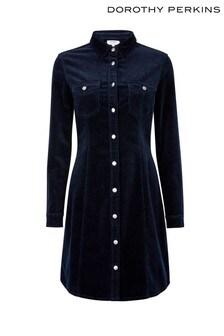 Dorothy Perkins Cord Shirt Dress