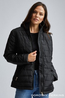 Dorothy Perkins Sustainable Lightweight Short Padded Jacket