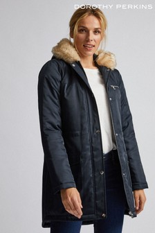 Dorothy Perkins Luxe Fur Parka