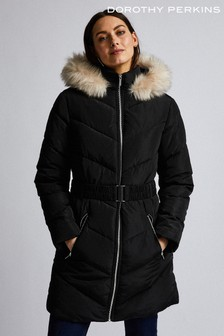 Dorothy Perkins Long Luxe Padded Jacket