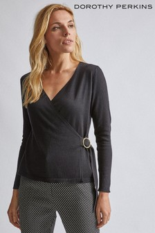 Dorothy Perkins Wrap D-Ring Jumper
