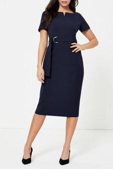 Dorothy Perkins Square Notch Cap Sleeve Dress