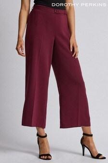 Dorothy Perkins Skinny Belt Wide-Leg Trouser