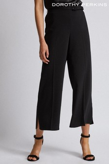 Dorothy Perkins Skinny Belt Wide-Leg Trouser