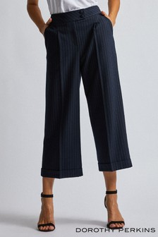 Dorothy Perkins Pinstripe Wide Trousers
