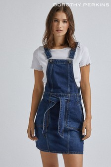 Dorothy Perkins Denim Dungaree Dress