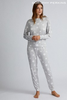 Dorothy Perkins Supersoft Star PJ Set