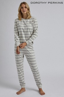 Dorothy Perkins Star Embellished Stripe PJ Set