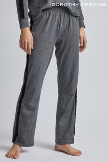 Dorothy Perkins Velvet Trim Pants