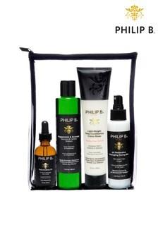 Philip B Four Step Hair Scalp Treatment Set Classic Formula