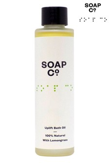 The Soap Co. 100 Natural Uplift Bath Oil 100ml