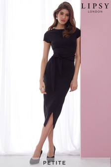 Lipsy Petite Self Tie Bodycon Dress