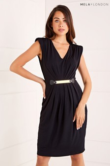 Mela London Belted Detail Dress