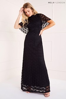 Mela London Lace Maxi Dress