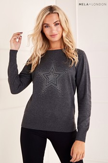 Mela London Star Christmas Jumper