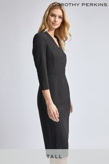 Dorothy Perkins Tall Long Sleeve Shift Dress