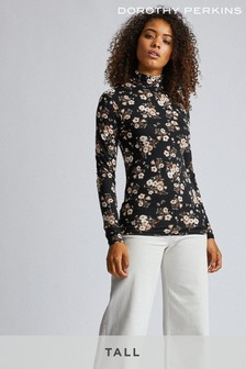 Dorothy Perkins Tall Floral Print Blouse