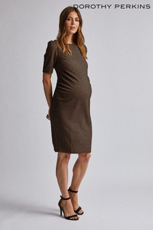 Dorothy Perkins Maternity Jacquard Bodycon Dress