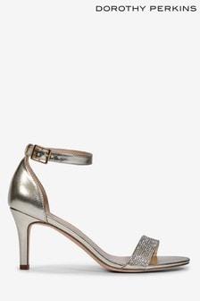 Dorothy Perkins Blinger Diamante Trim Sandal