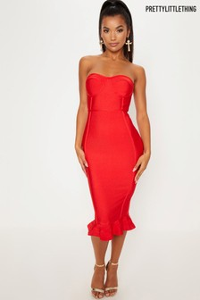 PrettyLittleThing Bandage Dress