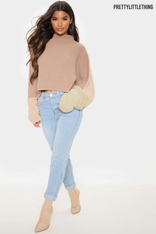 PrettyLittleThing Two Tone Jumper