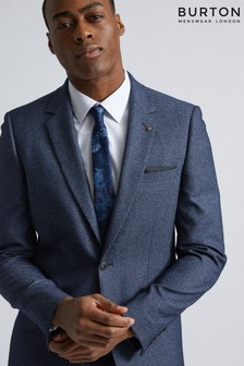 Burton Slim Texture Suit Jacket