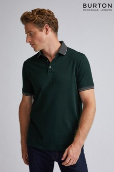 Burton Jaquard Collar Polo Shirt