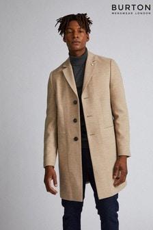 Burton Faux Wool Crombie